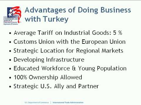 Market Opportunities in Turkey