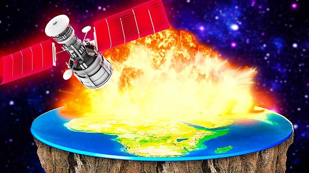 Combien de dégâts une terre plate peut-elle subir ? - Solar Smash