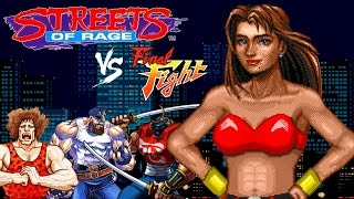 Final Fight vs. Streets of Rage: 1990s Critics Choose a Winner!