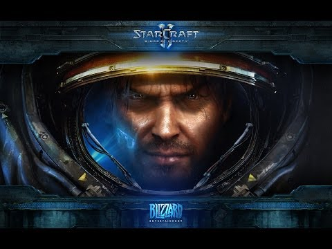 Starcraft 2 Arcade | Island Defense | Marine | Game 3 | Trash Titan | Old Vid