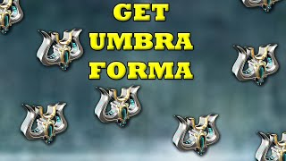 How To Get Umḃra Forma In Warframe