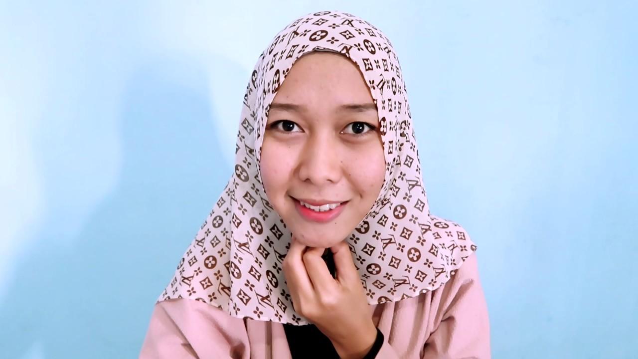 Tutorial Hijab Pashmina Simple Untuk Sehari Hari YouTube
