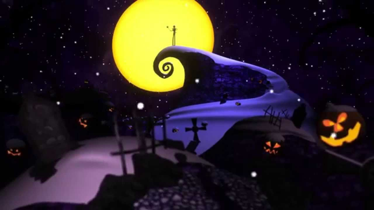 Nightmare Before Christmas 3D Model - YouTube