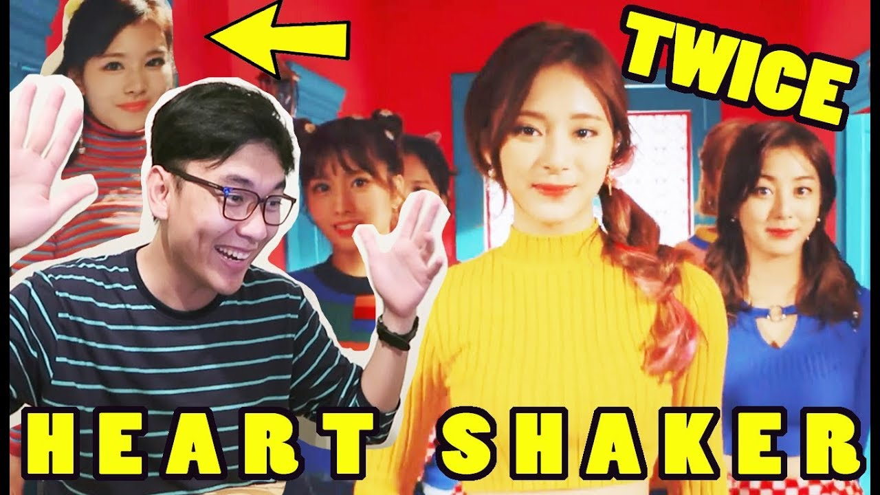 TWICE - Heart Shaker MV Reaction  My HEART s SHOOK!!! HOT Chaeyeong ... 8b418bd7f