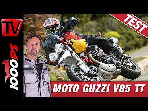 Moto Guzzi V85 TT Test 2019 - die beste Reiseenduro aus Italien?