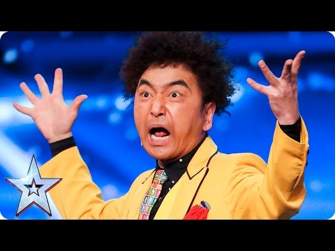 TanBA's tastebuds get a close shave | Auditions Week 6 | Britain's Got Talent 2017