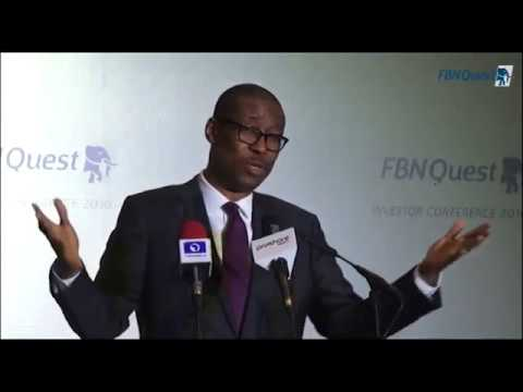 FBNQuest Investor Conference 2016 Presentations: Dr. Okechukwu Enelamah