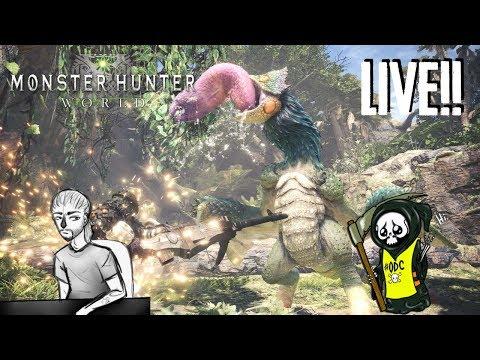 Monster Hunter World #1 LIVE with Uncle Strange [2018/01/29]