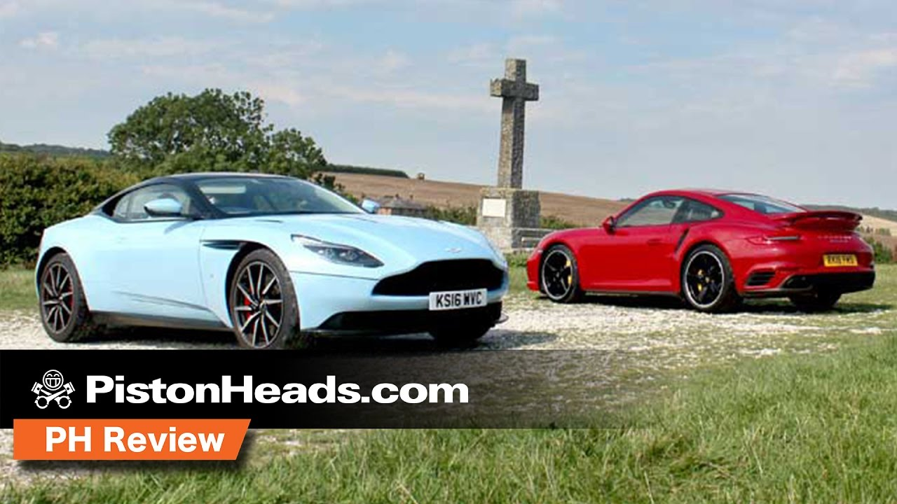 Aston Martin Db11 Vs Porsche 911 Turbo S Ph Review Pistonheads