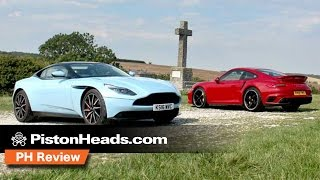 Aston Martin DB11 vs Porsche 911 Turbo S | PH Review | PistonHeads