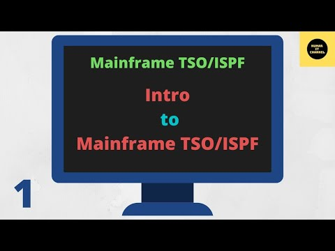 Mainframe Basics Terminology 1