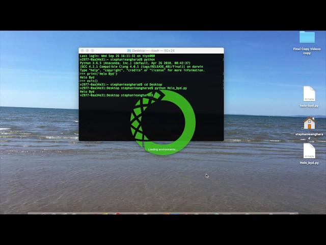 01 - Rhedeg Python - YouTube