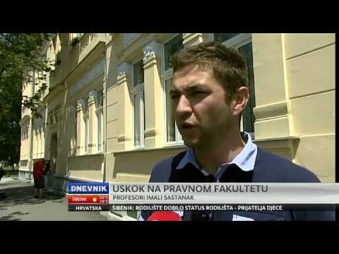Dnevnik - USKOK ušao na Pravni fakultet u Osijeku