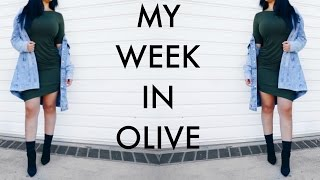 MY WEEK IN OLIVE | BEAUTYYBIRD