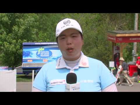 Shanshan Feng - Message to Fans for Sime Darby LPGA 2015