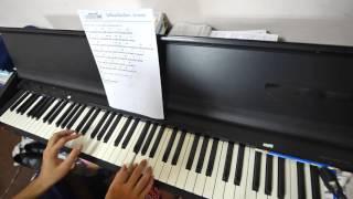 ไม่มีข้อแม้ตั้งแต่เริ่มต้น piano วิธีเล่น intro