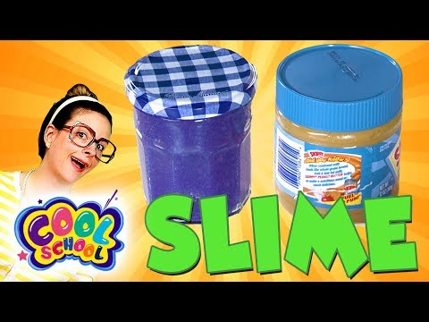 DIY Peanut Butter & Jelly Slime! Fun Slime Recipes! | Arts and Crafts with Crafty Carol