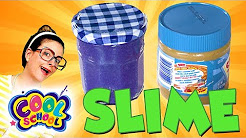 DIY Peanut Butter & Jelly Slime! Fun Slime Recipes!   Arts and Crafts with Crafty Carol