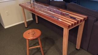 Hockey Stick Table
