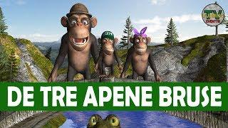 De tre apene Bruse - Eventyr med animasjon