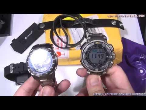 ГаджеТы:достаем из коробки фонарик-телефон Jorsoo A7+ и Solar-часы (с www.tinydeal.com)