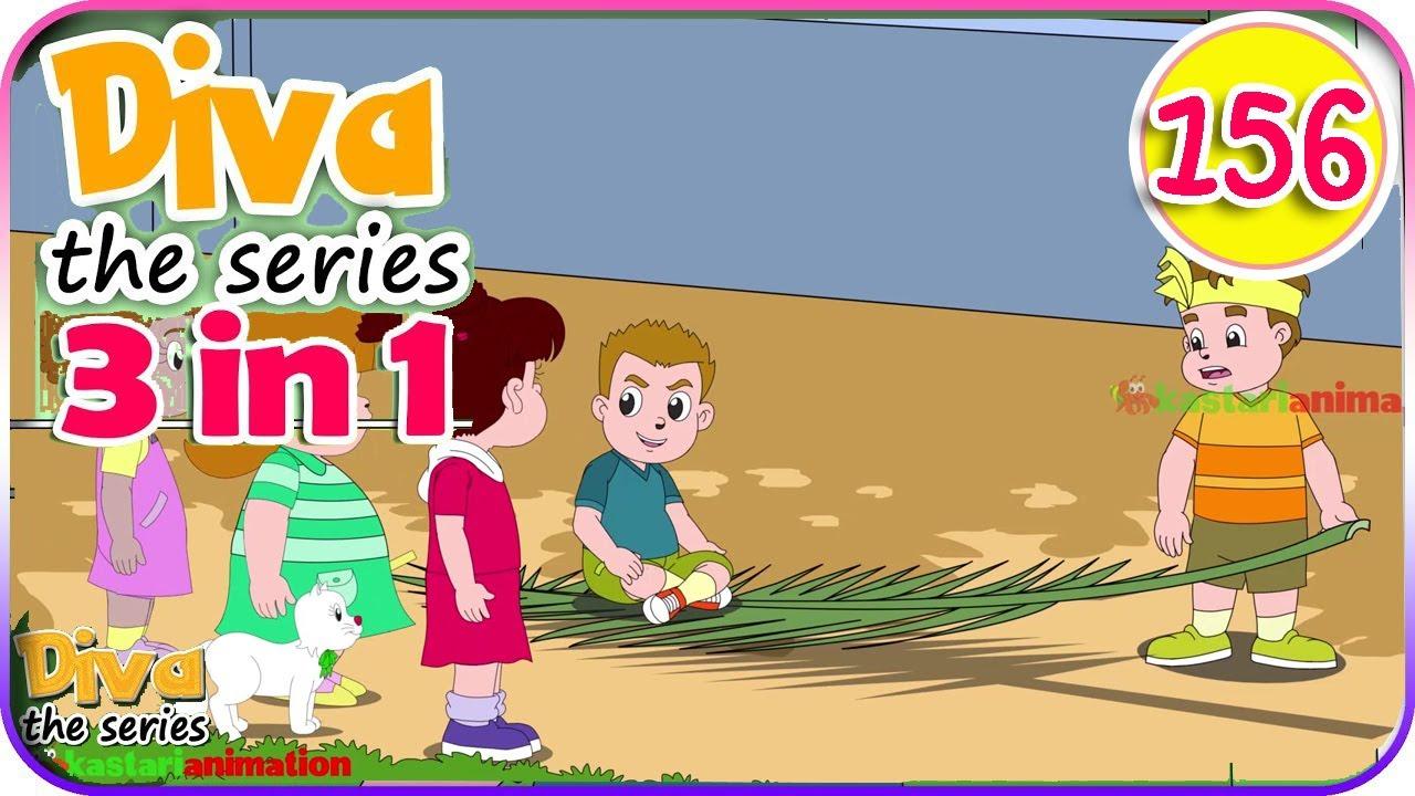 Seri Diva 3 in 1 | Kompilasi TAHUN BARU - 3 Episode ~ Bagian 156 | Diva The Series Official