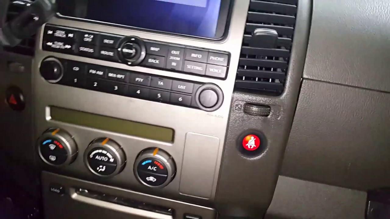 Nissan Pathfinder (2006-08) — new original Nissan multimedia sample
