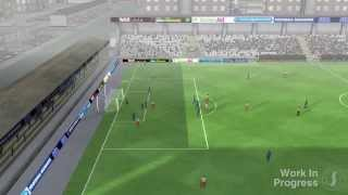 One of FootyManagerTV's most viewed videos: Football Manager 2014 PC Gameplay Trailer - 3D Match Engine