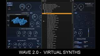 WAVE 2 0 Virtual Synths
