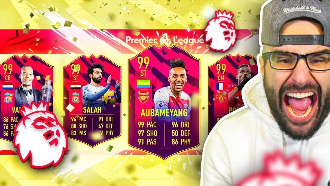OMG WHAT A DRAFT! HIGHEST RATED EPL FUT DRAFT CHALLENGE! FIFA 19 Ultimate Team thumbnail