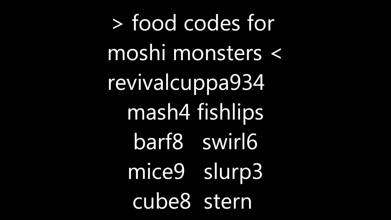 Coupons for moshi monsters