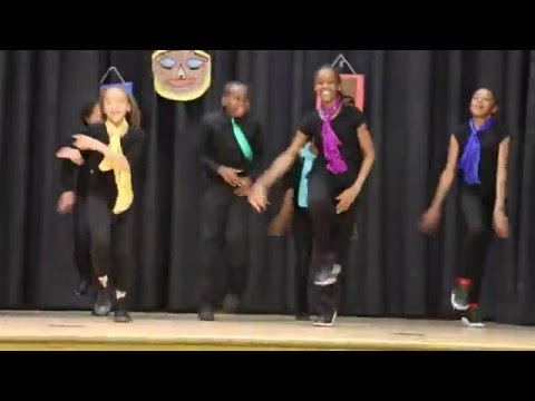 Earth wind and fire tribute - Baldwin Hills elementary school