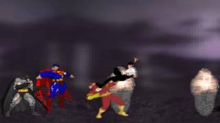 MK vs DC Flash Animation (Mortal Kombat vs DC Universe) (Flash Animation)