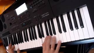 гр.Фристайл - Ах, какая женщина... на синтезаторе Casio CTK-7200