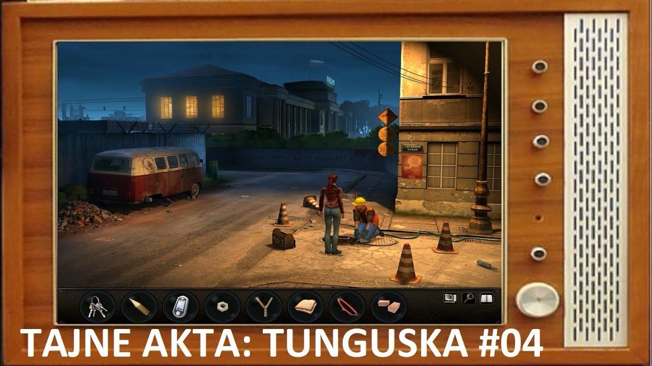 Zagrajmyw Tajne akta: Tunguska [#4]: Gazeta leży tutaj?