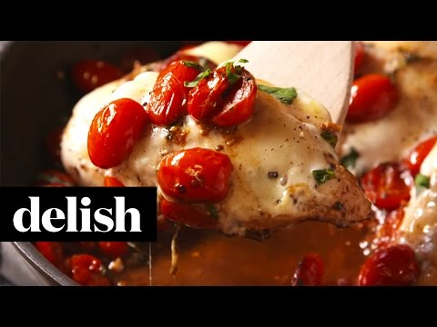 How To Make Caprese Chicken | Delish