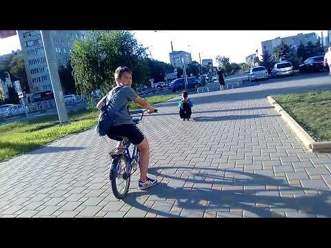 Путешествие на велосипедах по городу Невинномысска 🚲👫