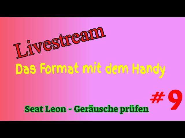 Seat Leon - Geräusche prüfen