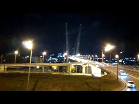 Владивосток. Золотой мост. Театр оперы и балета.
