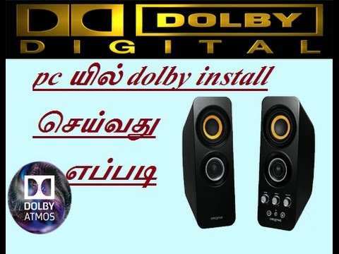Download How To Download Link Install Dolby Digital Audio