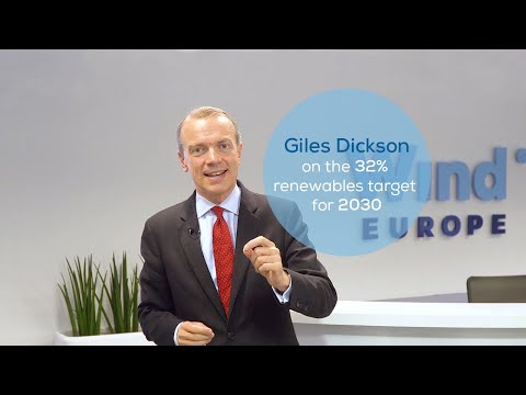WindEurope CEO Giles Dickson on the 32% renewables target for 2030
