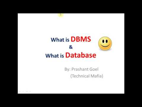 What is DBMS ? & What is Database ? in Hindi (Simple Explain)