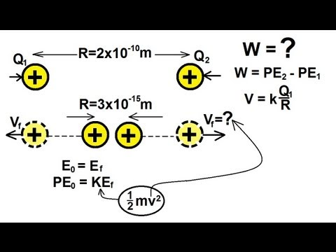 Physics - Electrical Potential and Electrical Potential Energy (4 of 6)
