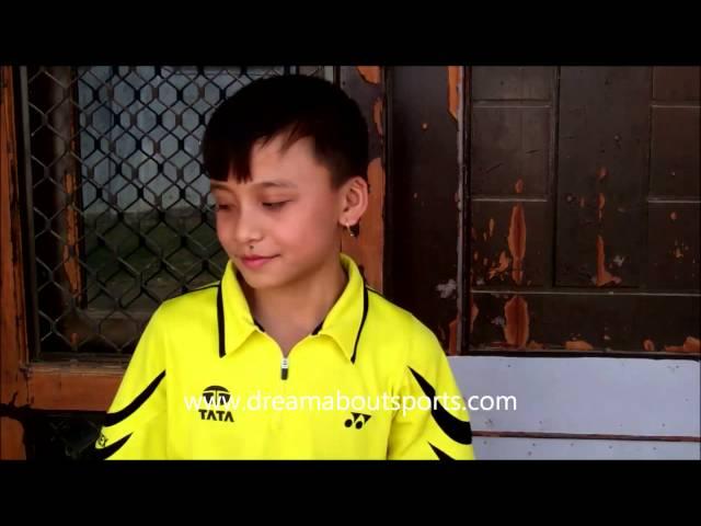 Rising Stars - Meiraba Luwang U-13 national badminton champion