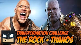 THE ROCK + THANOS | Transformation Challenge