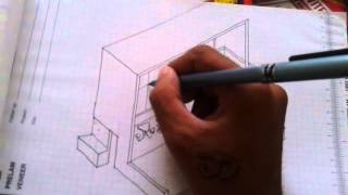 A Sketchy concept of terrace canteen having tensile shade