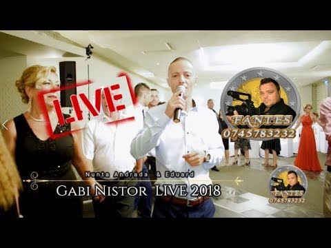 Gabi Nistor colaj SARBE pe sistem nervos LIVE 2018 Nunta Andrada & Eduard Hotel Parc
