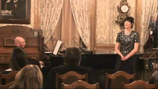 "CANZONETTA  ""RIDENTE LA CALMA"" W.A.MOZART  k.v. 152. Olga ZHIROVA /soprano/"