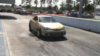 MX3 Turbo V6 - 12.139@119.88. First day on drag radials