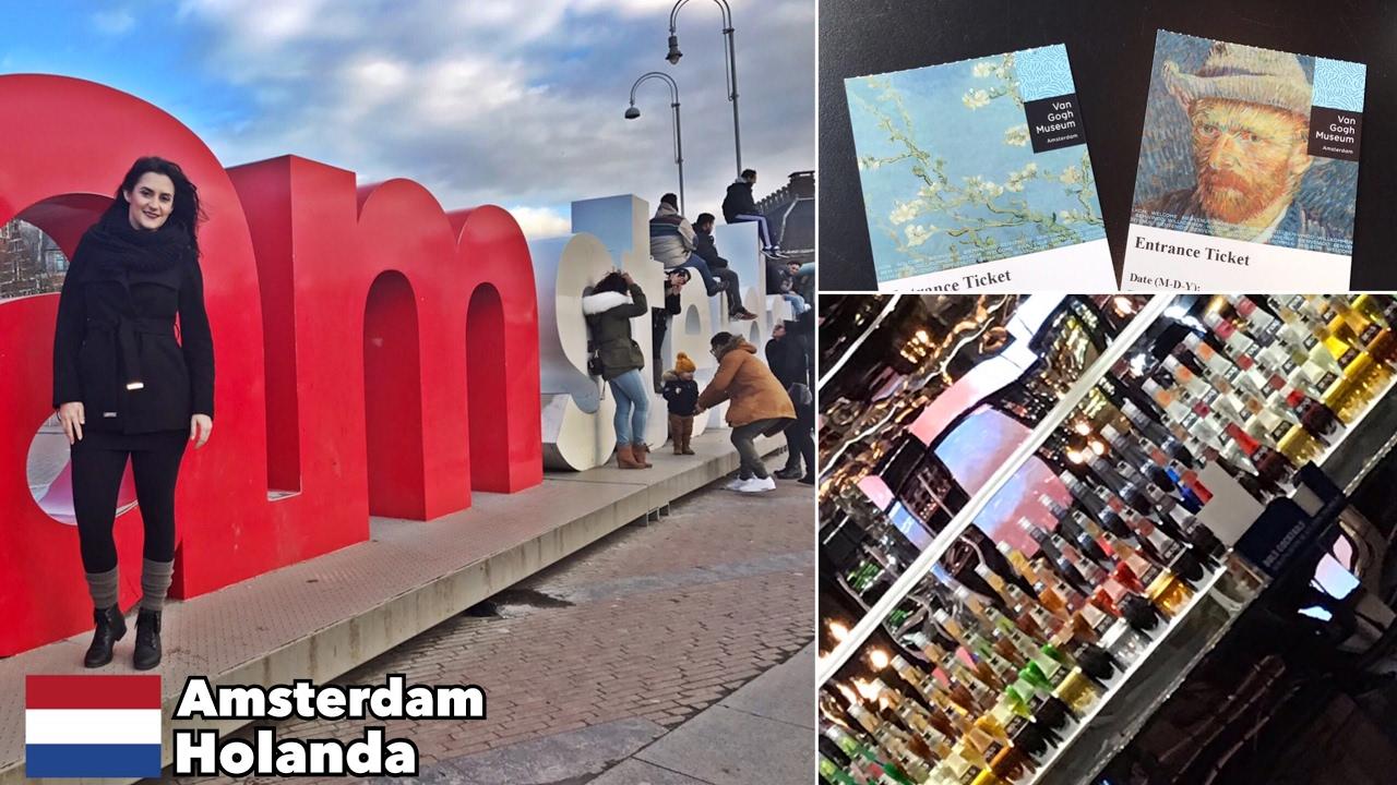 vlog amsterdam holanda primark house of bols e muito mais